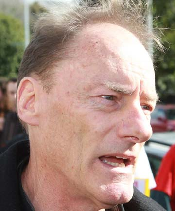 JOHN MINTO: The veteran activist faces charges of assault and obstruction after a protest in Glen Innes.