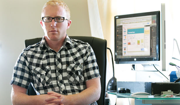 TOO GOOD TO BE TRUE: Te Awamutu-based man Adam Crouchley is going up against Apple after he says the company backed out on an online deal.