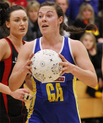 NEW RECRUIT: Kate Shearer has signed with the Southern Steel for the 2013 season.