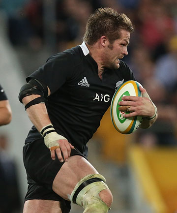 MANAGING EXPECTATIONS: All Blacks' captain Richie McCaw.