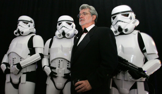 George Lucas became head of a vast corporate empire before selling up for US$4b, some of which he plans to spend in education.