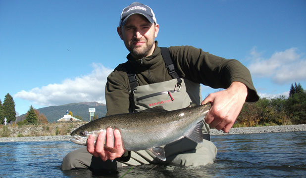 """JARED GOEDHART: """"I've never had any trouble catching trout."""""""