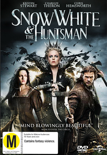 AVAILABLE ON DVD AND BLURAY: Snow White and the Huntsman