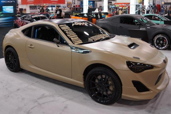 The Scion FR-S at the Sema Show in Las Vegas.