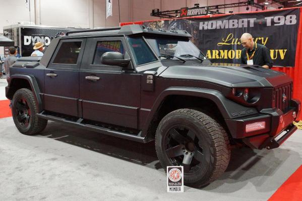 A Kombat T98 at the 2012 Sema Show in Las Vegas.