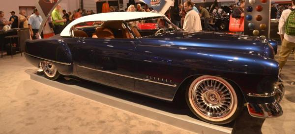 The Chip Foose 1948 Cadillac Eldorado at the 2012 Sema Show in Las Vegas.