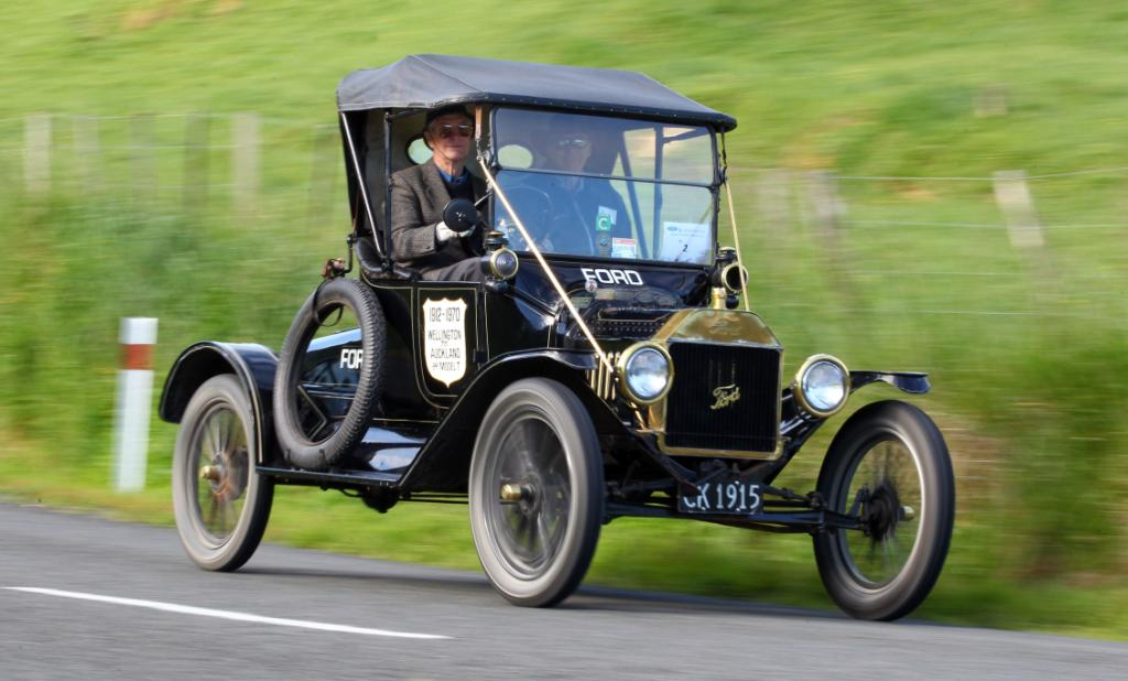 Model T Ford centenary re-enactment  rally.