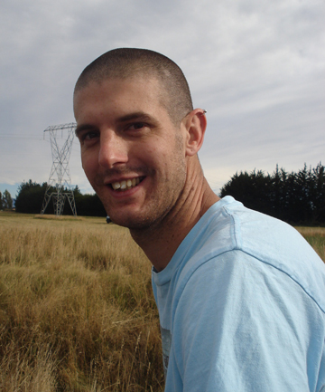 FAMILY MAN: Daniel Down, 30, was killed on Sunday in a motorbike crash near Waihao Forks.