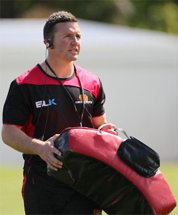 INTEREST: Aaron Mauger has applied for one of the vacant Crusaders' assistant coaching positions.