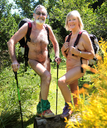 Brian Williams and Kay Hannam: Nude with attitude