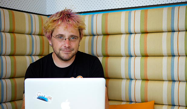 HELP FROM AFAR: Google Australia engineer and Crisis Response team member Anthony Baxter.