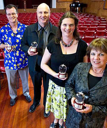 Winners of the National Excellence In Teaching Award