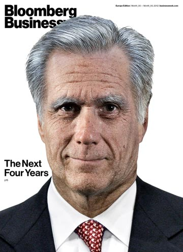 Businessweek Romney cover