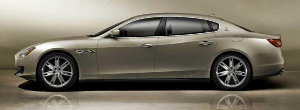The 2013 Maserati Quattroporte.