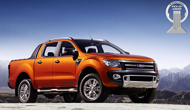 TOP OF THE RANGE: The Ford Ranger.