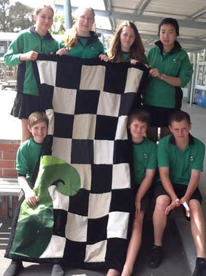 HEART-FELT CAUSE: A handmade quilt made by a group of year 7 and 8 Riverhead School students is up for auction on November 12 to help a Riverhead family.
