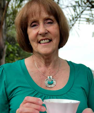 ROYAL TREATMENT: Val Baker is among 64 New Zealanders who will celebrate their birthday with Prince Charles on November 14.