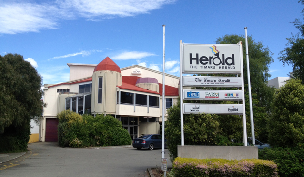BANK ST: The Timaru Herald was located at 52 Bank St between March 30, 1984 and December 7, 2012.