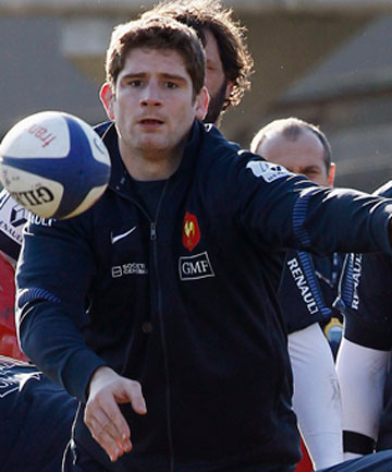 WARNING: Pascal Pape is promising the French will challenge the Wallabies.