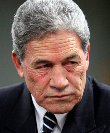 WINSTON PETERS: Fuming.