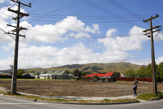 The plot:  Four houses have been moved off the site of the new Redwoodtown Countdown, at the corner of Weld St and Alabama Rd, in Blenheim.
