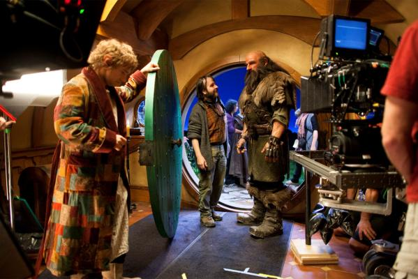The Hobbit filming