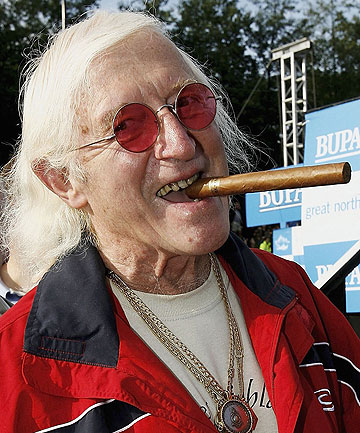 ALLEGED COVER-UP: Late BBC children's television star Jimmy Savile has been accused of being one of the Britain's most prolific sex predators.