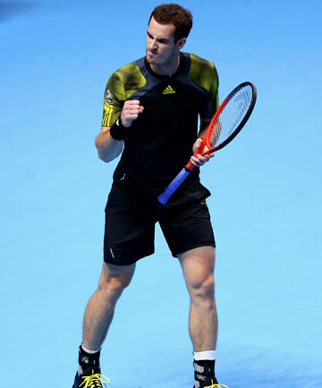 ANDY MURRAY: Has set up a likely semi-final with Roger Federer.