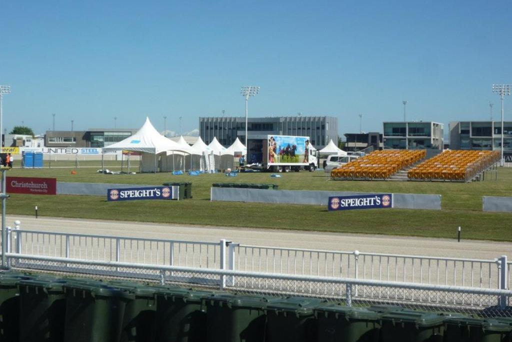 Preparation for Cup Day 2012