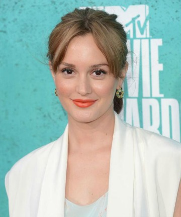 LEIGHTON MEESTER: Bright lips are on trend this summer.