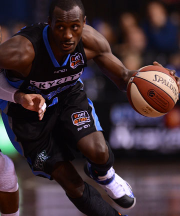 MAIN MAN: Cedric Jackson was the star once again for the Breakers as they beat the Cairns Taipans.