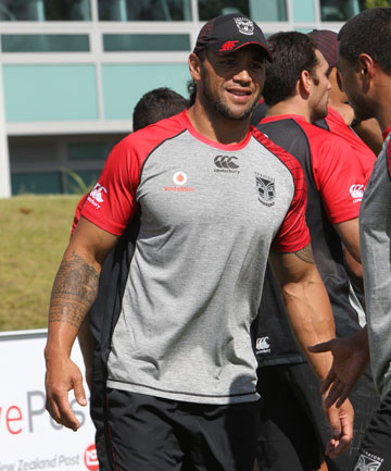 WORKING HARD: Ruben Wiki is relishing his new role with the Warriors.