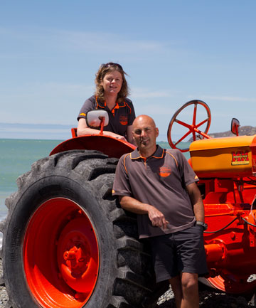 Colin and Kim Lindsay have owned Gannet Beach Adventures for four years