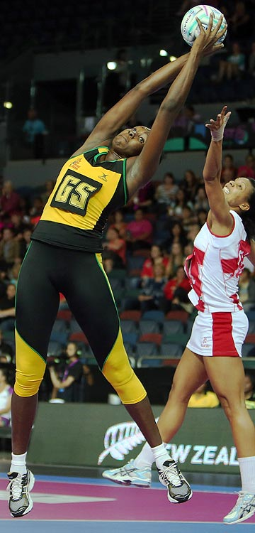 TOWERING JAMAICAN: Jhaniele Fowler has been signed to play for the Southern Steel.
