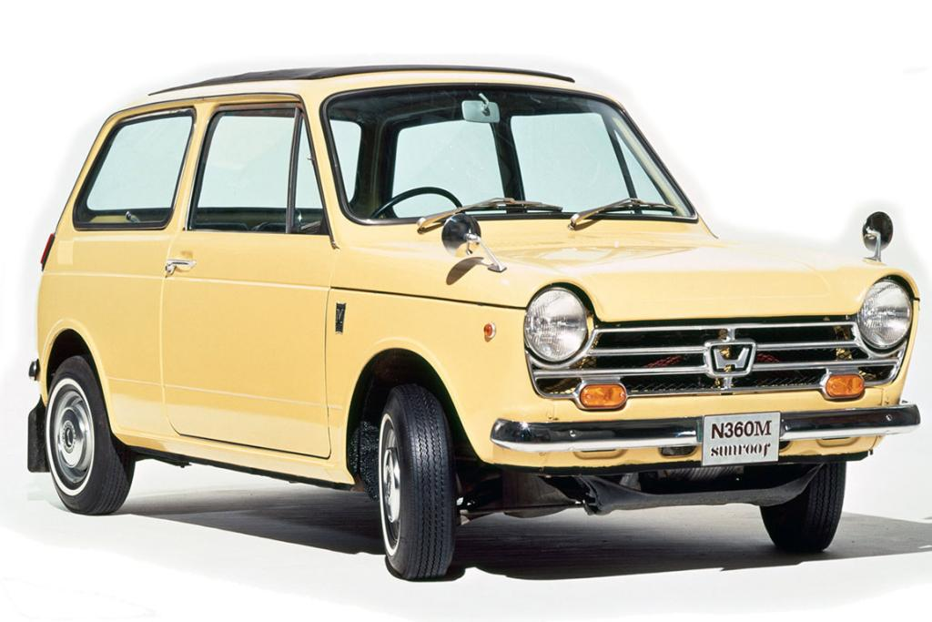 The original: The Honda N360 was a Japanese car pioneer held in great affection even 45 years on.