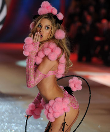 THE REAL SECRET: The show is spectacular, but the real Victoria's Secret underwear is boring.