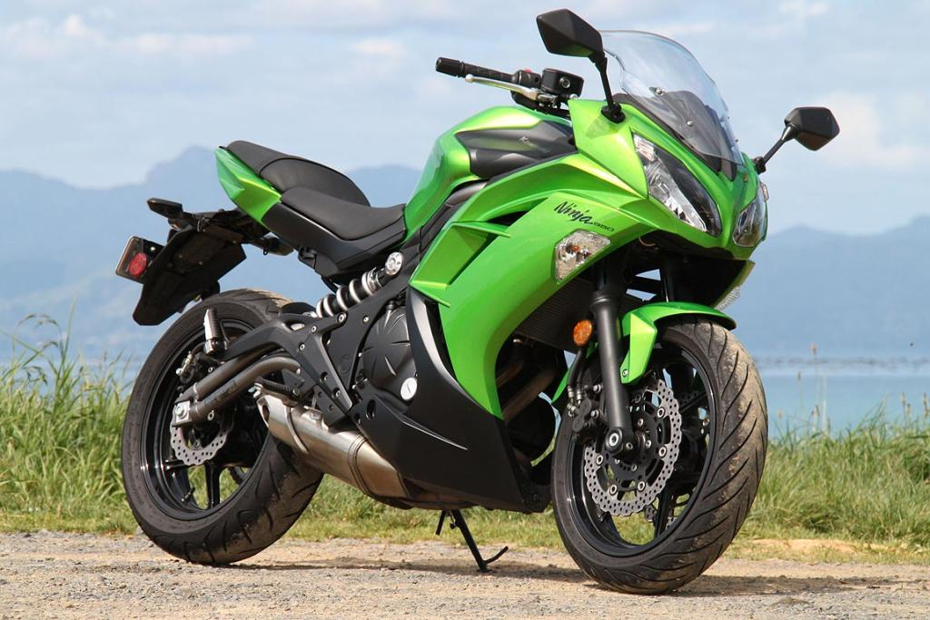 Kawasaki Ninja 650:It's now a great looking bike for a budget-priced middleweight.