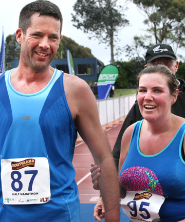 Andrew Moreton and Hannah Pascoe
