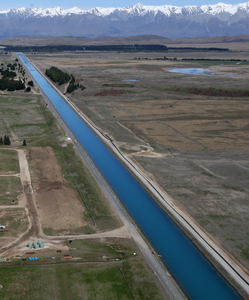 BIG PROJECT: Repairs to the Tekapo canals are about to begin in earnest.