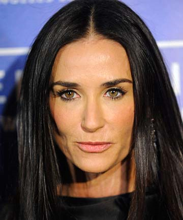 DEMI MOORE: The actress has been named the World's Most Coveted Cougar.