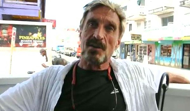 WANTED: Antivirus pioneer John  McAfee is reportedly wanted for murder in Belize.
