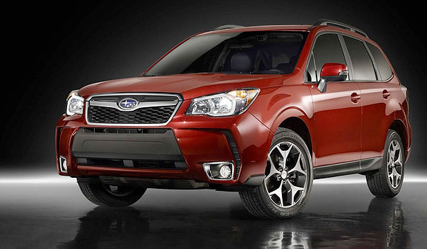 The new Subaru Forester will be in New Zealand in 2013.