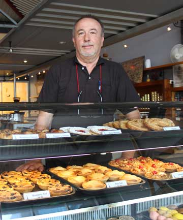 FRENCH FARE: Charles Millet says his cafe Eiffel on Mt Eden Rd has become a destination eatery.