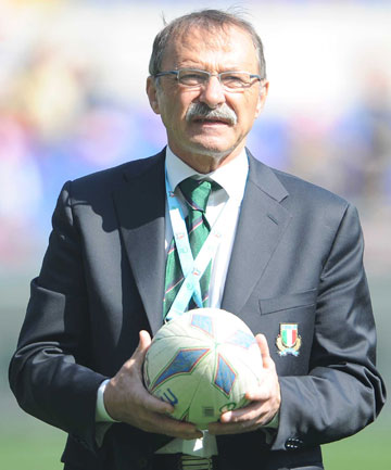 LEVEL-HEADED: Italy coach Jacques Brunel wants a consistent performance from his side when they play the All Blacks.