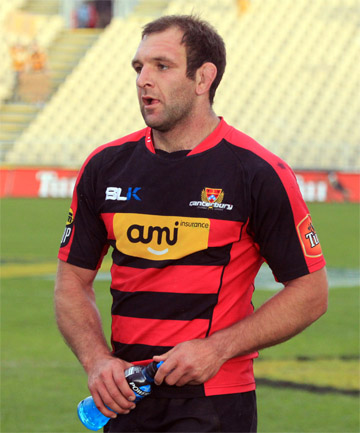 NEXT IN LINE: George Whitelock could replace Adam Thomson in the All Blacks squad if Thomson is ruled out of the rest of the European tour with suspension.