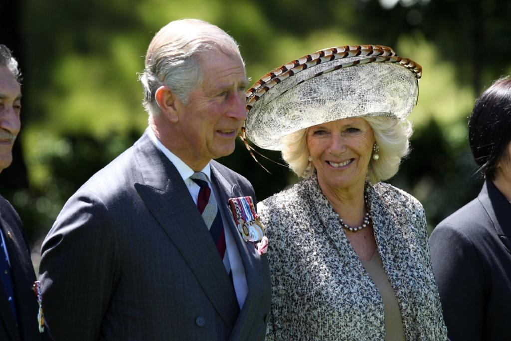 Prince Charles and Camilla begin their visit to Wellington with an official ceremony at Government House.