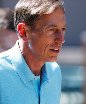STOOD DOWN: Former head of the CIA, David Petraeus.