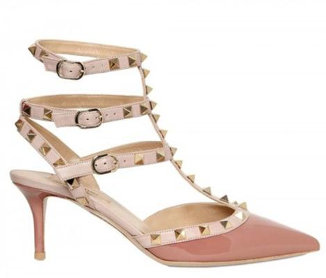 The studded heel: Valentino