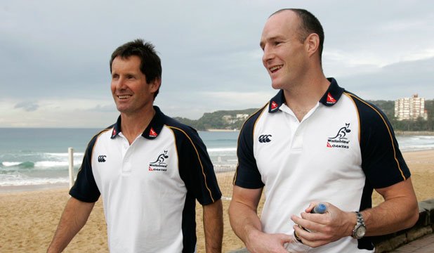 Robbie Deans Stirling Mortlock