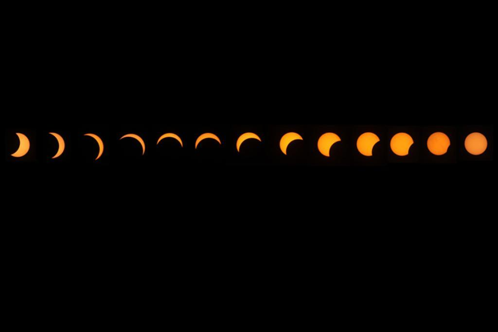 Jo Ottey sent in this compliation of the eclipse.